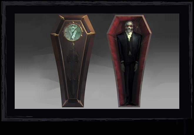Coffin Prop Concept Art