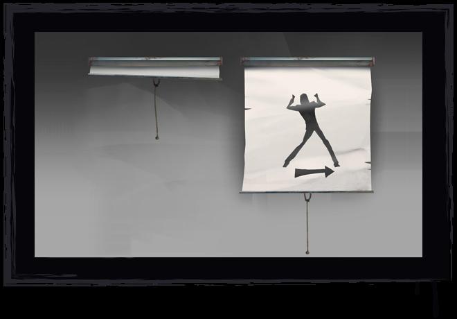 The Narrator's Screen Prop Concept Art