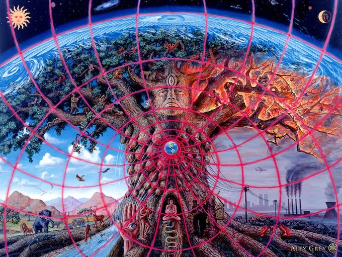 "Alex Grey's ""Gaia"""