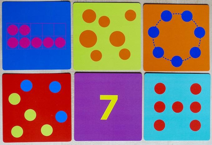 Tiny Polka Dot Sevens