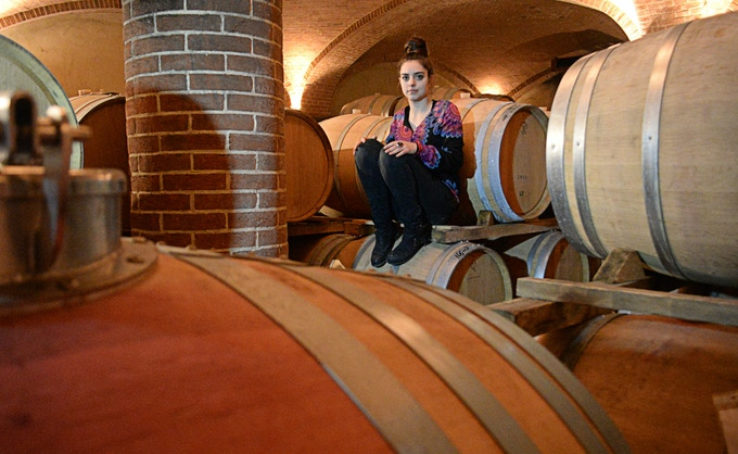 Brigitta Correggia, daughter of Ornella Correggia and her late husband, Matteo, is deeply connected to her family winery and the patrimony generations before built for her and her brother, Giovanni. Photo credit - Pierangelo Vacchetto