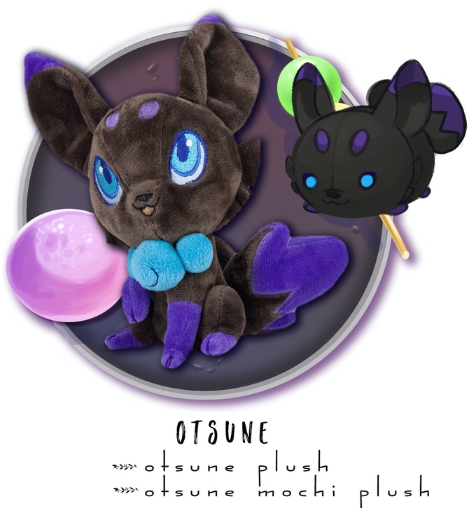 Includes: One Otsune Plush + One Otsune Mochi Plush