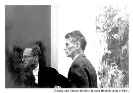Samuel Beckett and Barney Rosset bromance