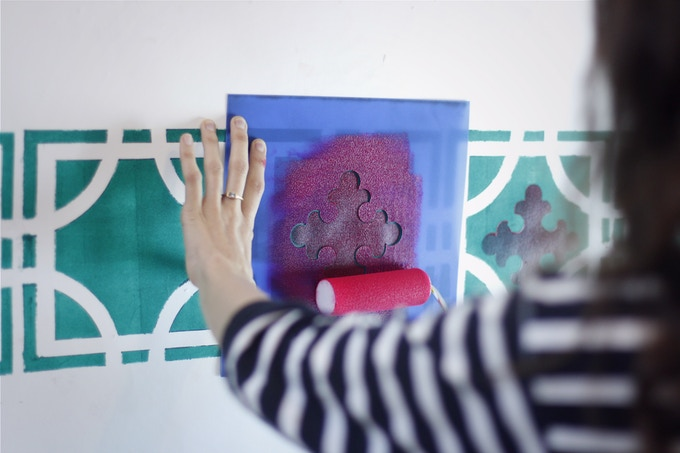 Rememory Stencils, indoor use
