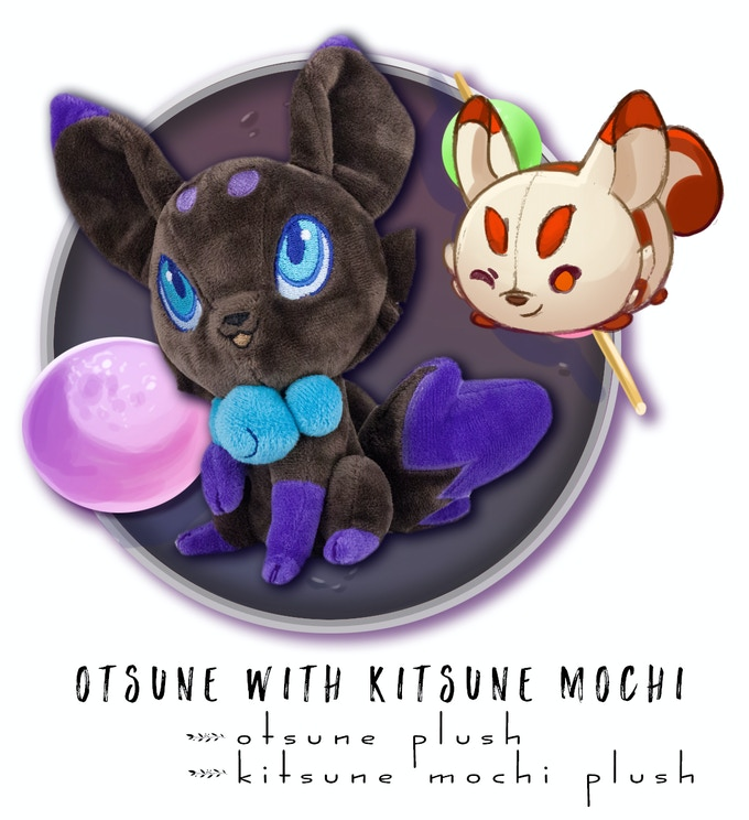 Includes: One Otsune Plush + One Kitsune Mochi Plush