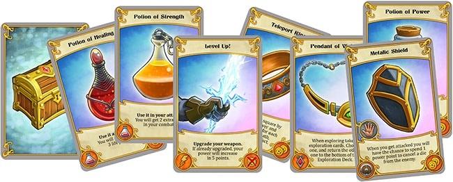 Treasure cards