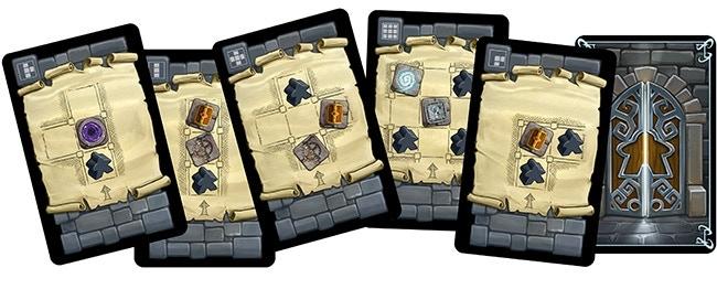 Exploration cards