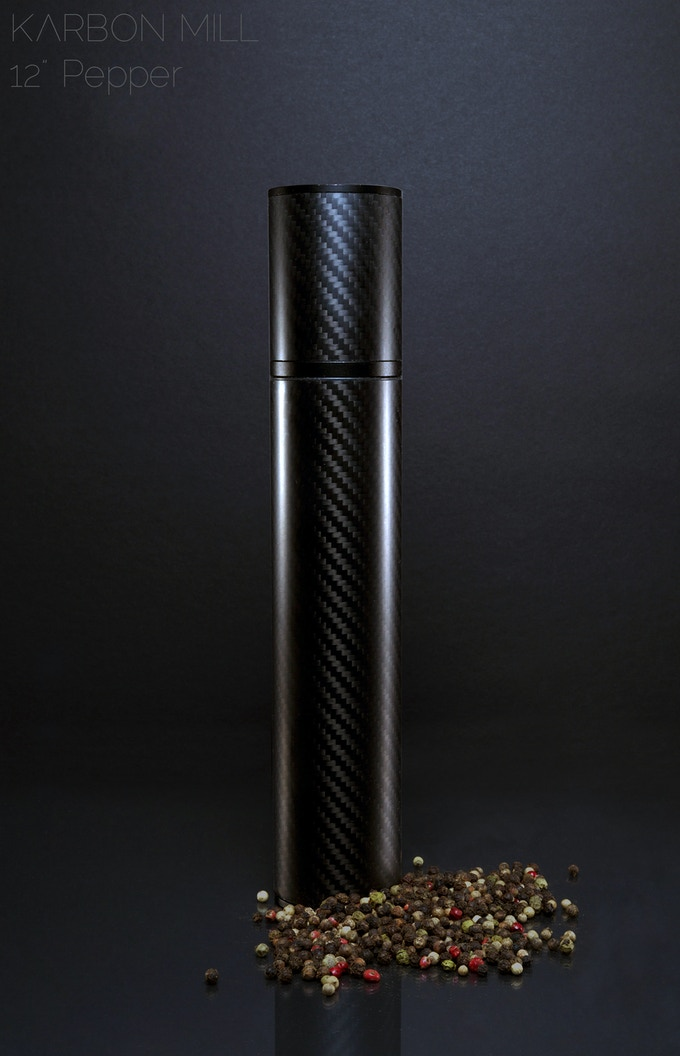 "12"" Pepper Mill, also available in 8.5"""