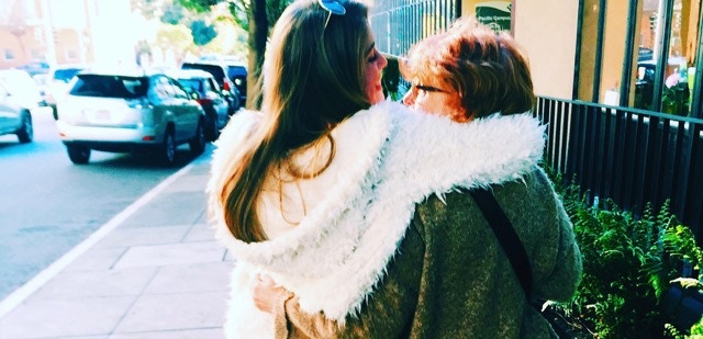 Caitlin and Beth in San Francisco 2015