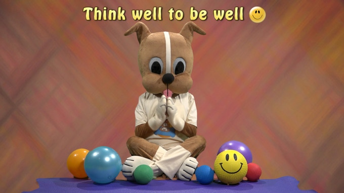 Wuf Shanti teaching kids how to Think Well to Be Well