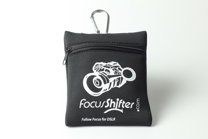 Padded Neoprene. Aluminum Carabiner. Quality Craftsmanship. The protection your FocusShifter deserves.