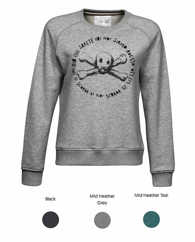 SKULL Sweatshirt (ladies)