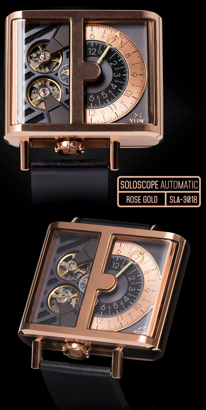 SOLOSCOPE AUTOMATIC ROSE GOLD