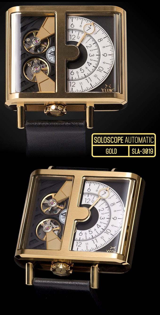 SOLOSCOPE AUTOMATIC GOLD