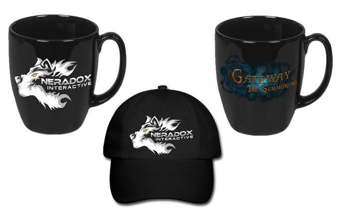 Mugs and Hat