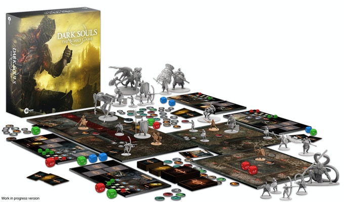 Dark Souls The Board Game By Steamforged Games Ltd