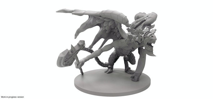 The Gargoyle mini-boss