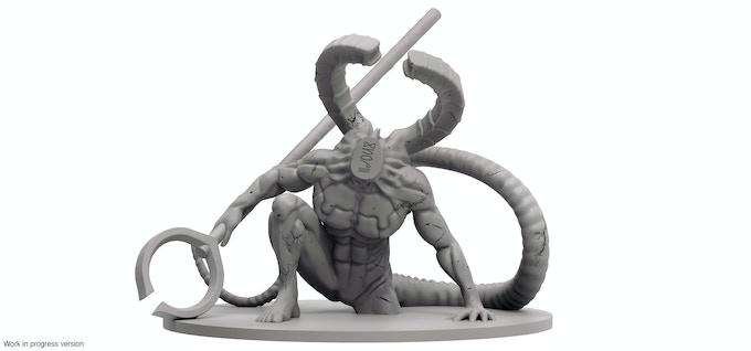 The Titanite Demon mini-boss
