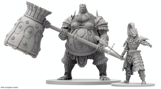 Dragon Slayer Ornstein & Executioner Smough