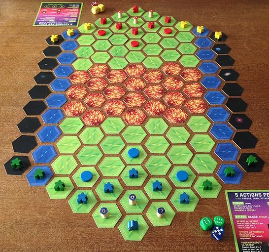 METTLE- Caper Games