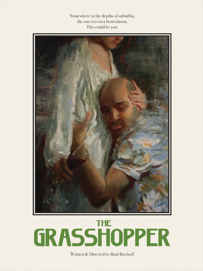 """The Grasshopper"" 18x24 Movie Poster; Artist: Jeff Wells; Designers: Alice Xiao, Zach Mohar"