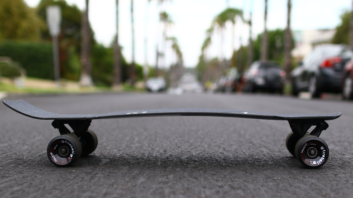 The ultimate skateboard crafted of pure carbon fiber upcycled from the production of modern day rockets!