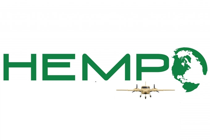 THE WORLD'S FIRST HEMP PLANE SPECIAL EDITION HEMPEARTH T's LOGO DESIGN