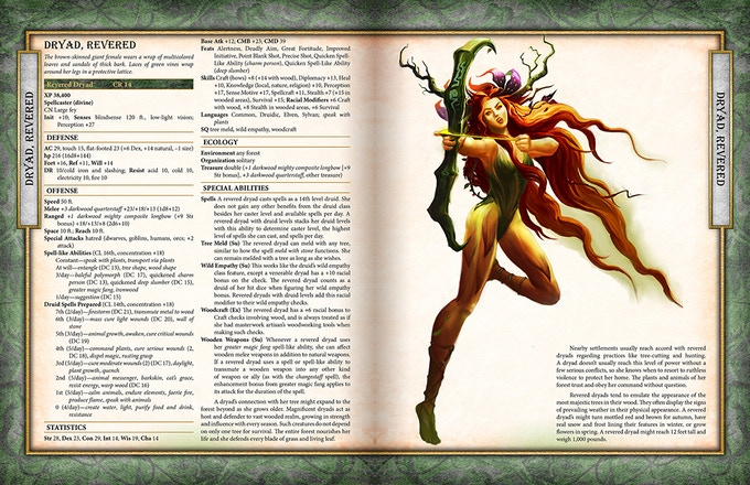 The genius guide to the talented bestiary for pathfinder for Bureau 13 rpg pdf