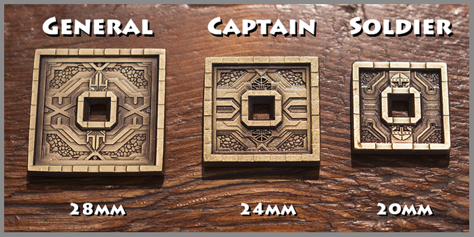 Dwarven Tower coins, front