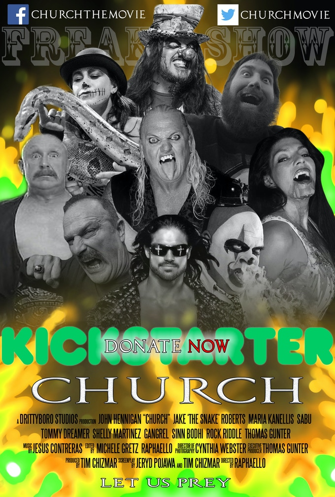 Freakshow Church Special Edition Poster