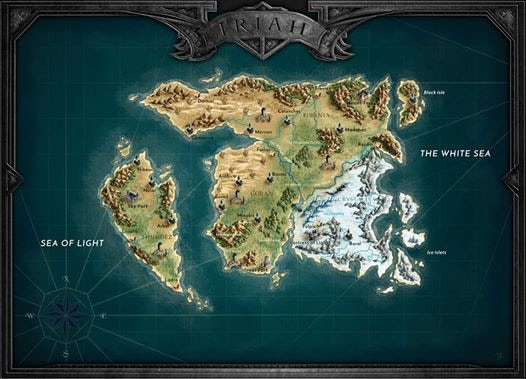 Final map of the world