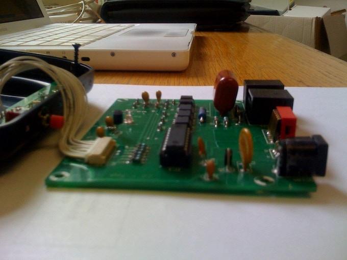 Prototype under test