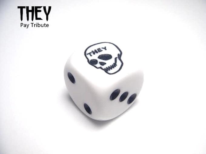 Shiny Marble Dice!