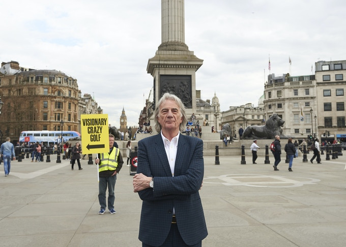 Paul Smith is the curator and ambassador of the project