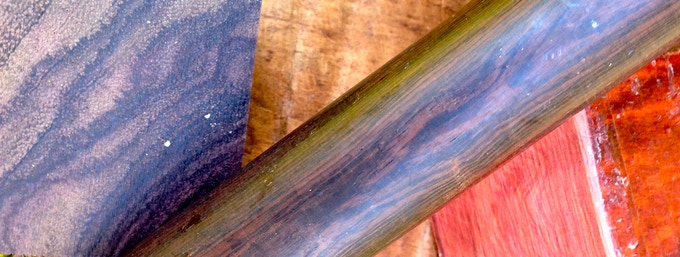 Close up of raw woods