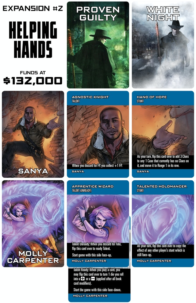 The Dresden Files Cooperative Card Game By Fred Hicks Evil Hat