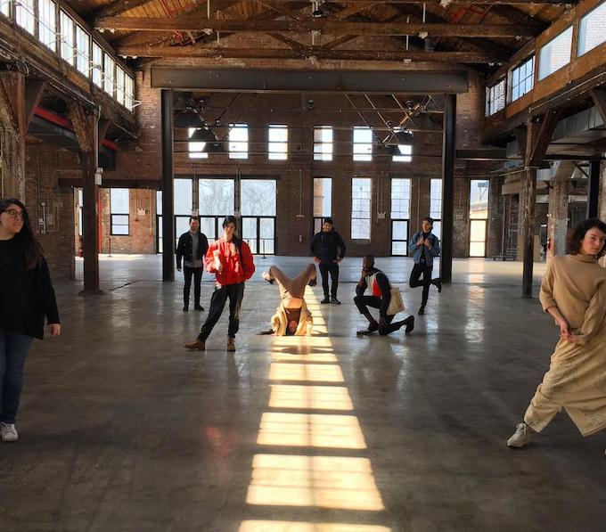 Installations artists: Jen Monroe (Bad Taste), Ilana Savdie, Kathleen Dycaico, Jerome Bwire, Signe Pierce, Yulan Grant, and Michael Potvin (Nitemind Creative).