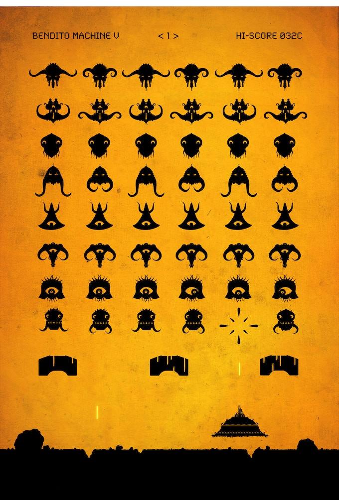Invaders from Space / Invasores del Espacio