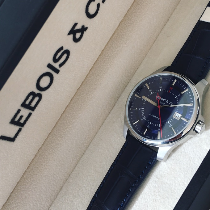 Lebois & Co Avantgarde Date - 2nd Re-launch Edition