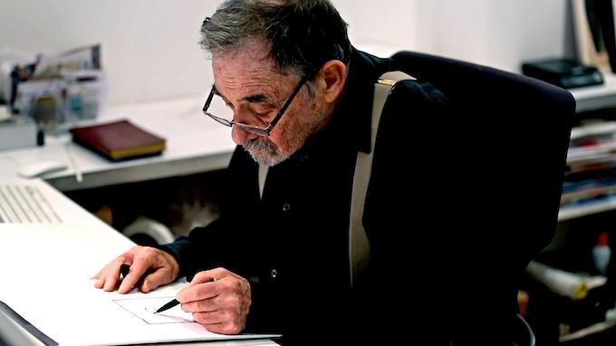 Seymour Chwast, 2016.
