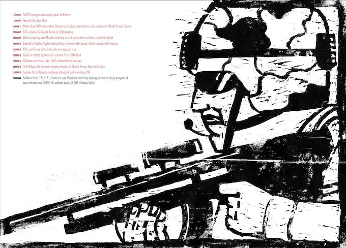 """From """"At War with War."""" Iraq War, 2006."""
