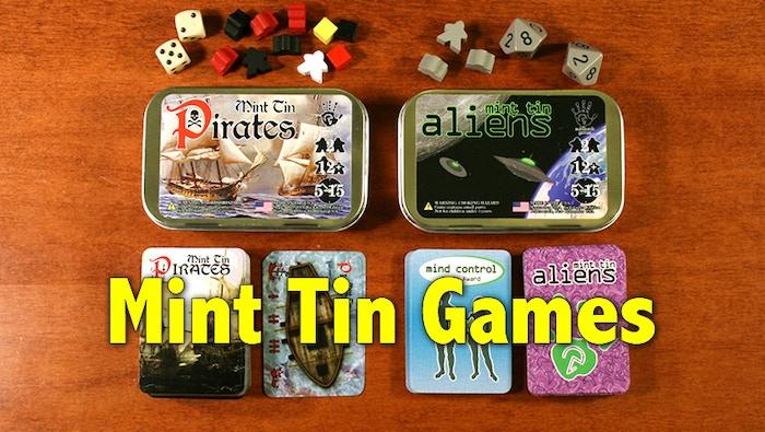 Mint Tin Pirates & Mint Tin Aliens are now joined by Mint Tin Mini Apocalypse!  \o/