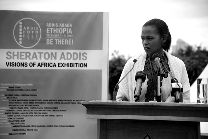 Aida Muluneh at Addis Foto Fest