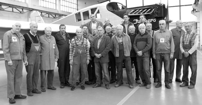 Unser Spezialisten-Team - die Arbeitsgruppe Ju52 / F13 / J1