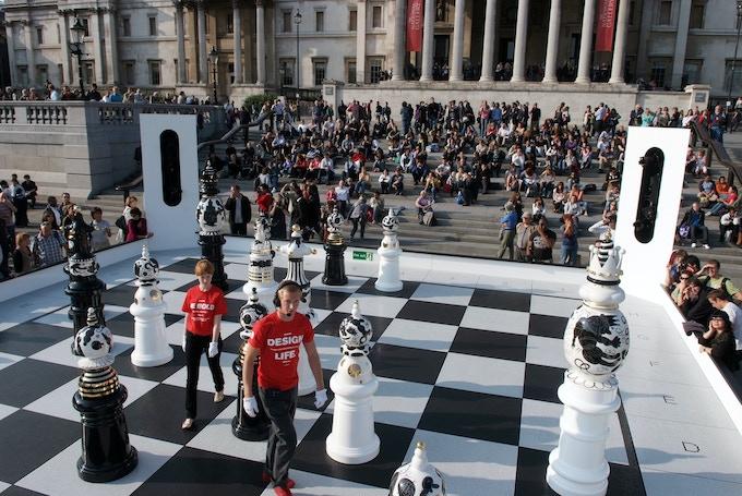 The Tournament in Trafalgar Square by Jaime Hayón for the London Design Festival 2009