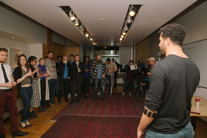 Here we launched our most recent prototype at a community startup venue in Toronto.