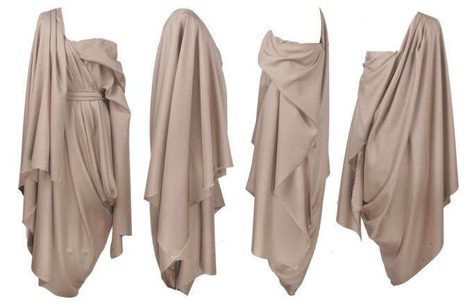 Draping and Ideation...
