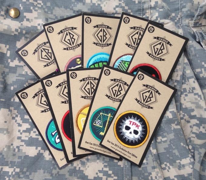 Gamer Badges Set 1
