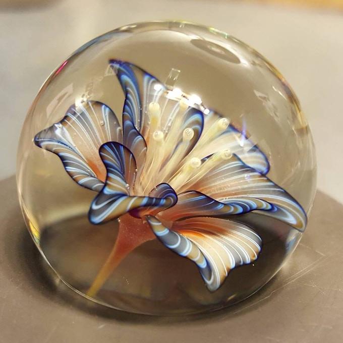 Flower Marble - Each is Unique