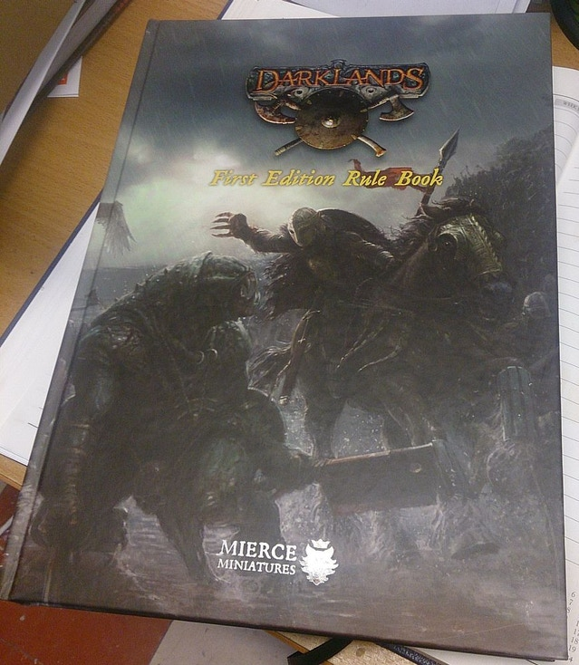The Darklands: First Edition Rule Book